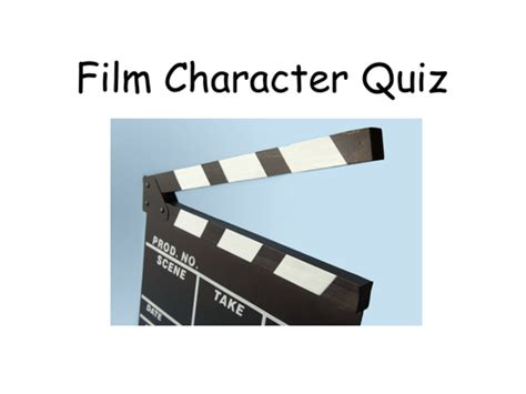 film personality quiz form time quizzes by katekn teaching resources tes