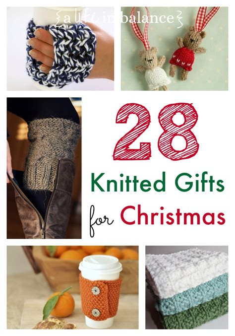 knitted gifts for christmas
