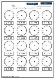 best photos of analog clock worksheets reading analog