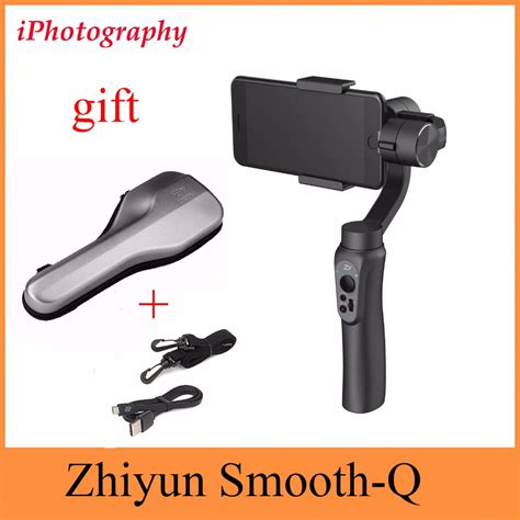zhiyun smooth q smooth q handheld gimbal stabilizer for smartphone for iphone 7 6s plus s7 s6