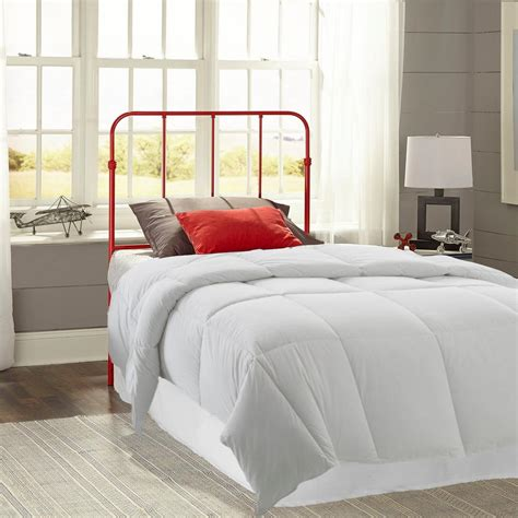 red headboard double fashion bed group nolan candy red twin headboard with