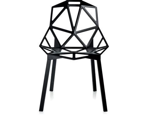magis chair one with stacking base two pack hivemodern