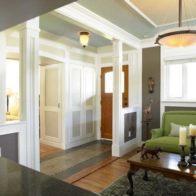 How To Create A Foyer In An Open Floor Plan | no entry hall create the illusion of one