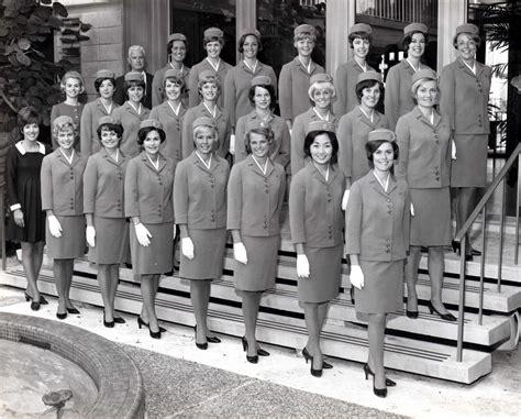 pan am stewardess 1962 graduation pan am stewardess