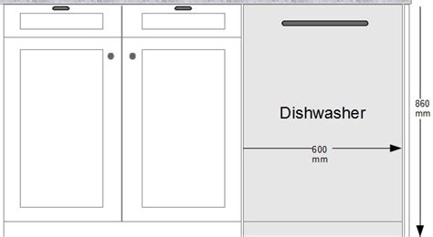 Kitchen Base Cabinet Height by Uk Standard Sizes For Dishwashers