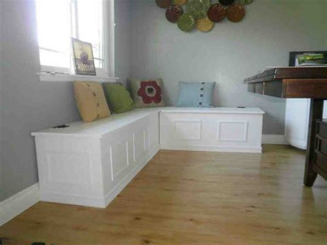 Corner Storage Bench Seat   Home Furniture Design