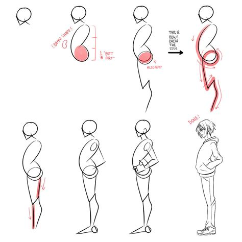 How To Draw Anime Bodies Breeds Picture