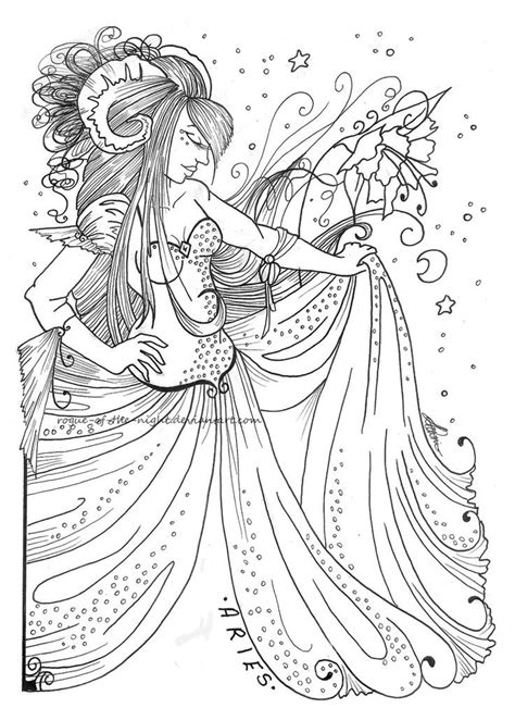 79 best images about zodiac coloring pages on pinterest