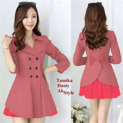 desain jas modern wanita blazer cantik modern desain wanita korea terbaru murah