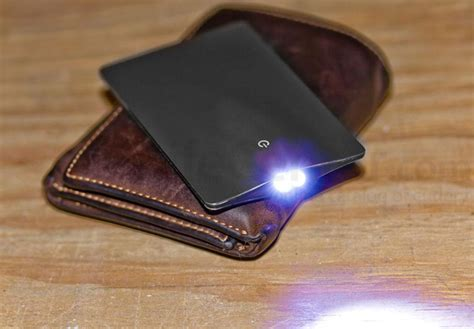 Solid Wallet Edc 11 In1 Multi Purpose Self Defense Se Diskon sinclair credit card size led flashlight black jakartanotebook