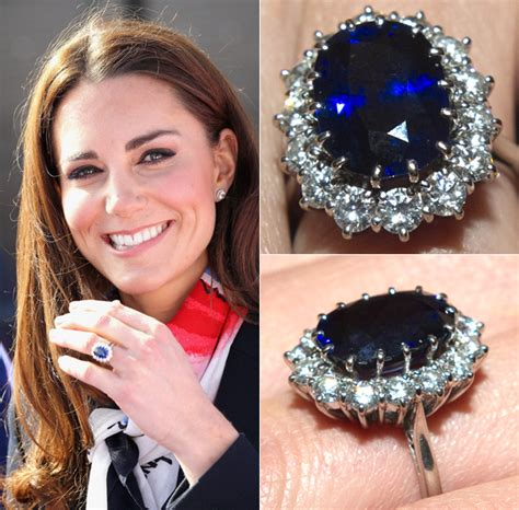 kate middleton engagement ring replica and cost