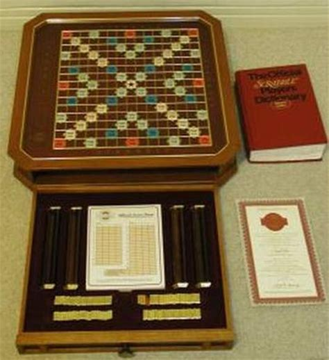 scrabble gold edition the history of scrabble boards glass vintage gold