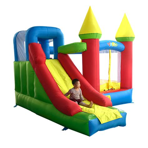 buy inflatable bounce house aliexpress com buy yard super inflatable bouncer bouncy castle bounce house combo slide with
