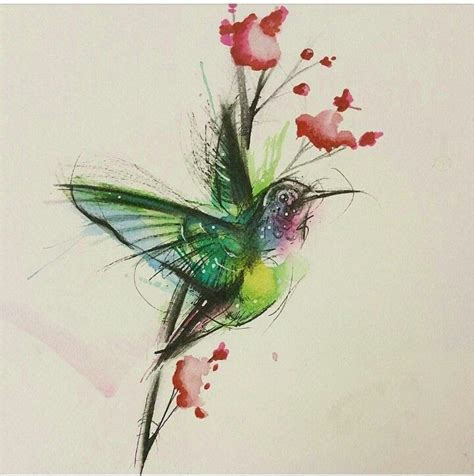 geometric hummingbird tattoo 134 best images about tattoo on pinterest