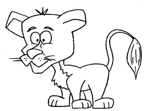 coloring page lion cub lion cub coloring pages sketch coloring page