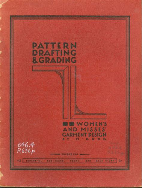 pattern drafting grading m rohr моделирование записи в рубрике моделирование дневник