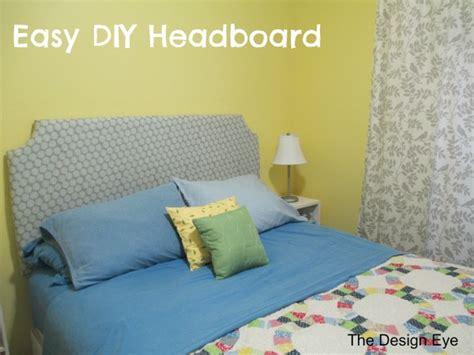 Easy Headboard Diy by Easy Diy Headboard Family Homestead