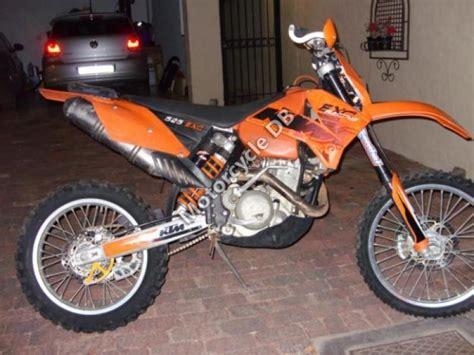 2006 Ktm Exc 2006 Ktm 525 Exc Racing Moto Zombdrive