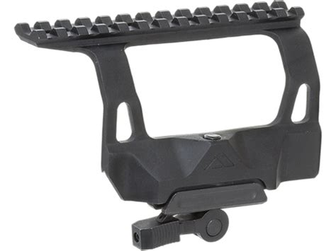 aim sports ak 47 rail side mount with release aim sports ak side mount with 20mm optic rail evike