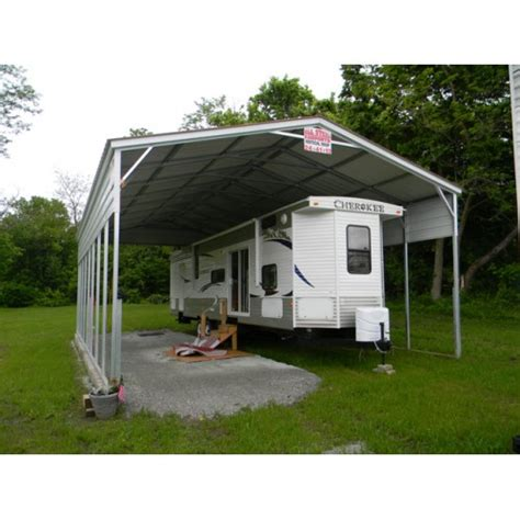 rv shelter with half sides rv steel shelters from all
