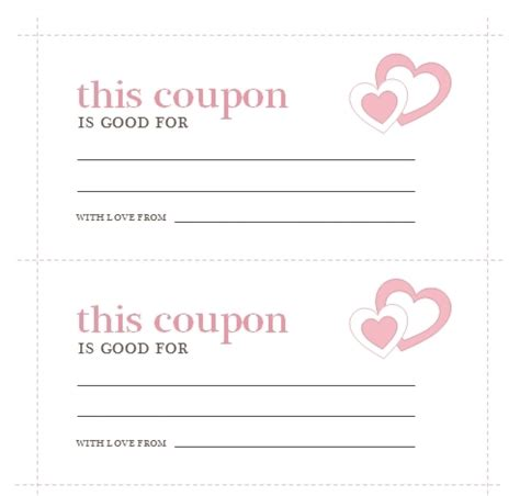 coupon card template word coupon template microsoft word larissanaestrada