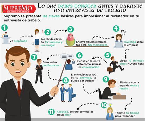 preguntas para una entrevista un psicologo psicologos peru 8 infografias sobre entrevistas de trabajo