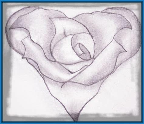 imagenes de corazones sencillos sencillos dibujos de corazones a lapiz en 3d dibujos de