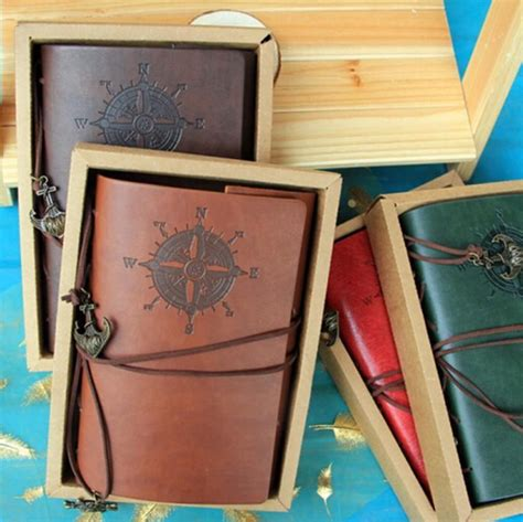 Binder Printing Custom A5 20 Ring Crable Stationery popular leather journals notebooks custom buy cheap