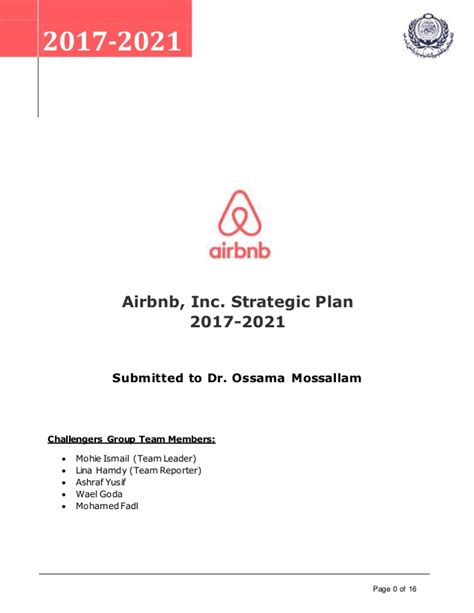 airbnb vision and mission strategic plan harvard business review casestudy airbnb