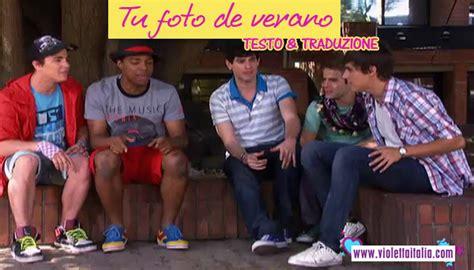 verano 2 testo tu foto de verano testo e traduzione violetta fan club