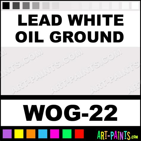 lead white ground artist paints wog 22 lead white ground paint lead white