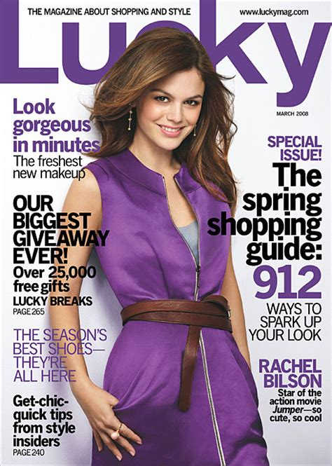Sale Event Reminder Lucky Magazine Shops by Snag A Year Of Lucky Magazine For 4 50 Shop Nyc Daily