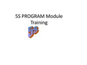 Mba Orientation Programme Ppt by 5 S Program Orientation Powerpoint Presentation