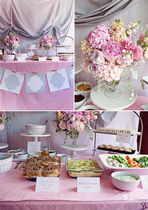 ideas for bridal shower table decorations shower decorations favors ideas