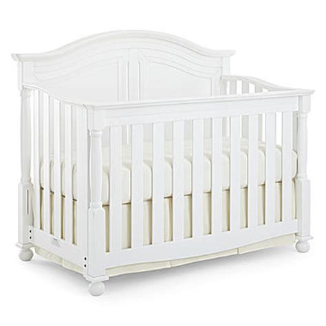 Bedford Baby Monterey Crib White Baby Cribs