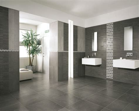 bathroom modern bathroom tile with grey color and mix with