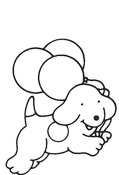 coloring pages spot spot the ballons kid stuff the o
