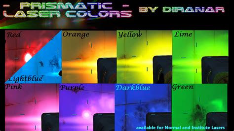 prismatic colors prismatic laser colors v1 0 weapon mod