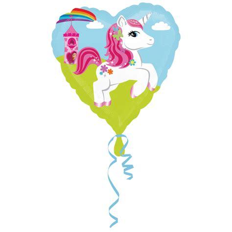 Balon Foil Unicorn Balon Unicorn Balon Foil Kuda 80 Cm unicorn kalp folyo balon
