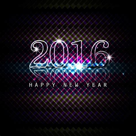 shiny new year shiny new year 2016 background vector free