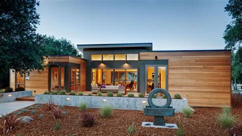 design your own eco home eco friendly prefab homes designs with garden and pathways
