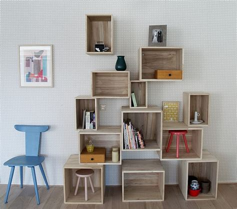 home decorating pictures diy bookshelf ideas
