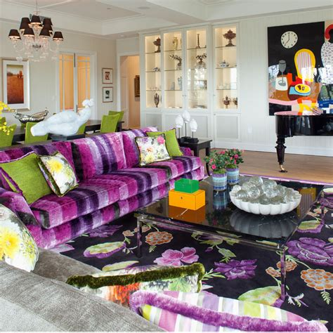 eclectic decorating eclectic decor with powerful use of colour and pattern