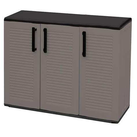 mobili in plastica plast armadio 3 ante da esterno in plastica basso
