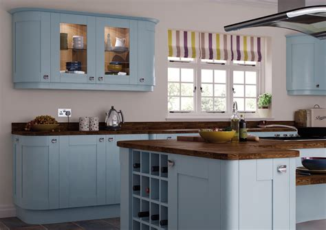 Paint Wood Kitchen Cabinets by Richmond Duck Egg Blue Mls Kitchens