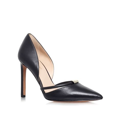 high heels nine west nine west takeitez high heel court shoes in black lyst