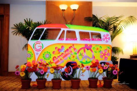 60 s hippie theme bar mitzvah ideas photo 1 of 21 - Hippie Theme Decorations