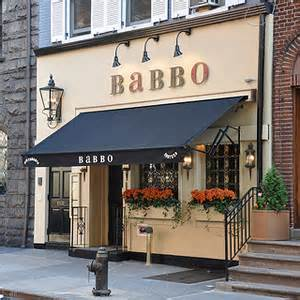 colors restaurant nyc babbo askmen