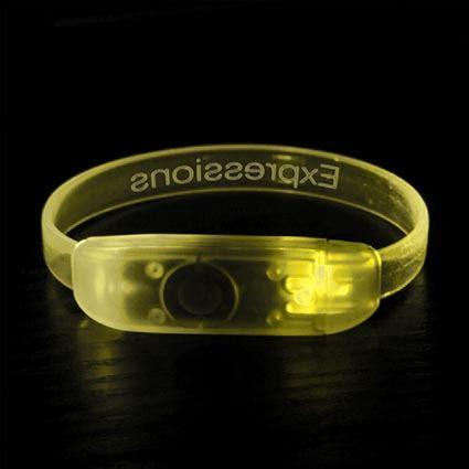 led light up wristbands personalised wristbands