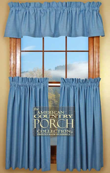blue curtain valance solid chambray blue curtain valances